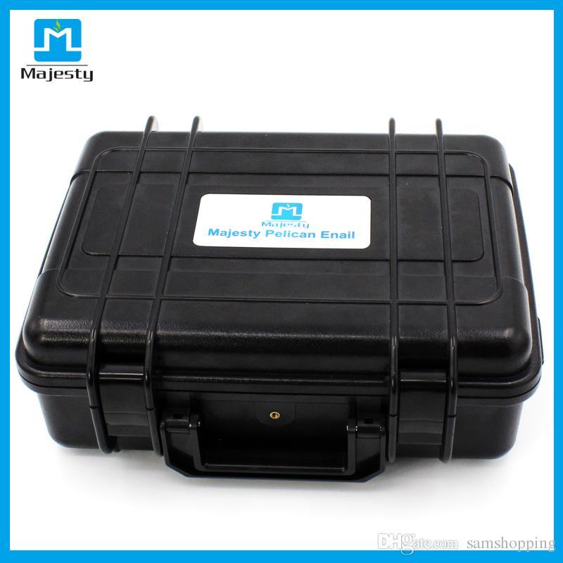 USA SHIPPING Titanium nail New USA and EU market Pelican Case Dnail Temperature Controller Box Dnail with coil heater