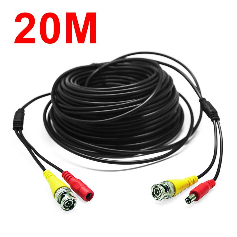 2018 NEW Hot 66Feet/20M BNC RCA Audio Video Power Extension Cable ,DVR  Surveillance Wire For CCTV Security Camera From Wxl1981, $13.41   DHgate.Com