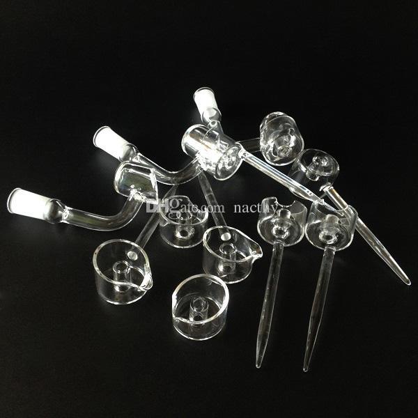 100% Quartz Carb Cap fit 4mm or 3mm Thick Quartz Banger Nail domeless banger carb cap for oil rigs water bongs