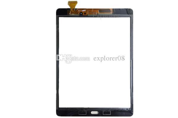 Touch Screen Digitizer Vetro Lente con Nastro Samsung Galaxy Tab A 9.7 T550 T551 T555 Tab E 9.6 inch T560
