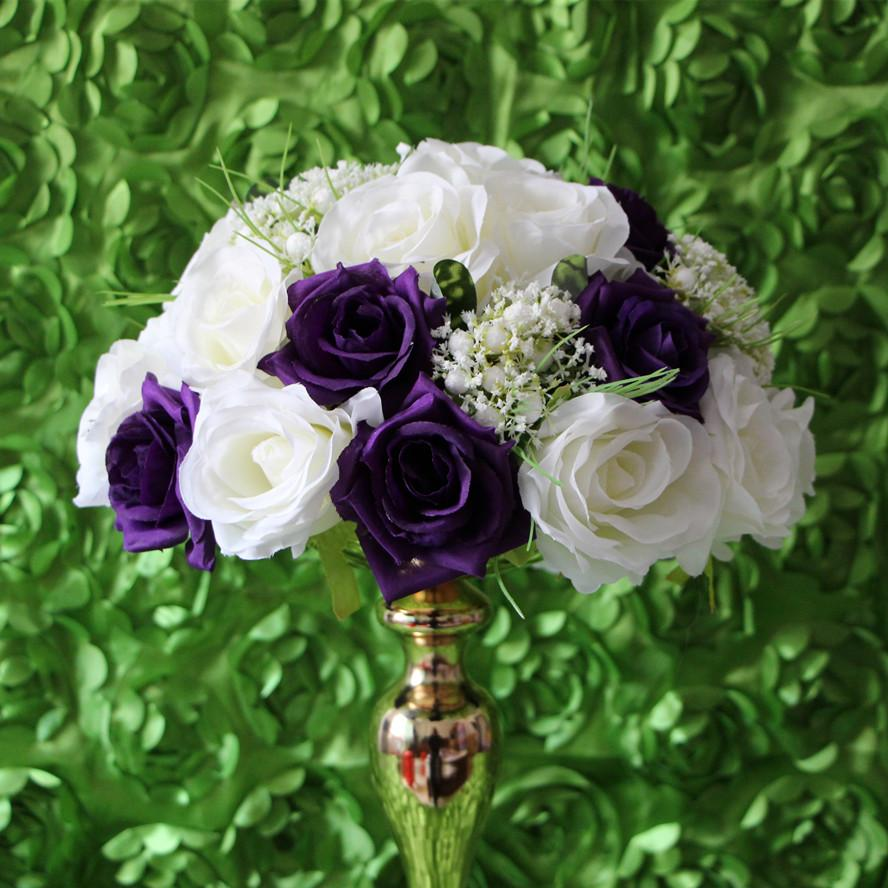 Ems Wedding Road Lead Flowers With Rose And White Figs Flower Bride