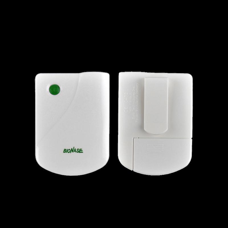 건강 관리 BioNase 비염 부비동염 코 요법 마사지 장치 치료 건초열 저주파 펄스 레이저 치료사 Masseur white0613007