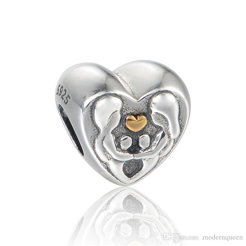 charm pandora cuore amore