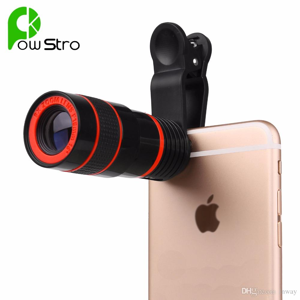 Telescope Lens Clip for Mobile Phone
