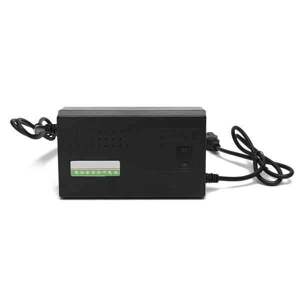 Freeshipping 48V12-14AH Lead Electric Bicycle Bike Acid Battery Charger For Electrocar Scooters 48V 14AH LED indicator light