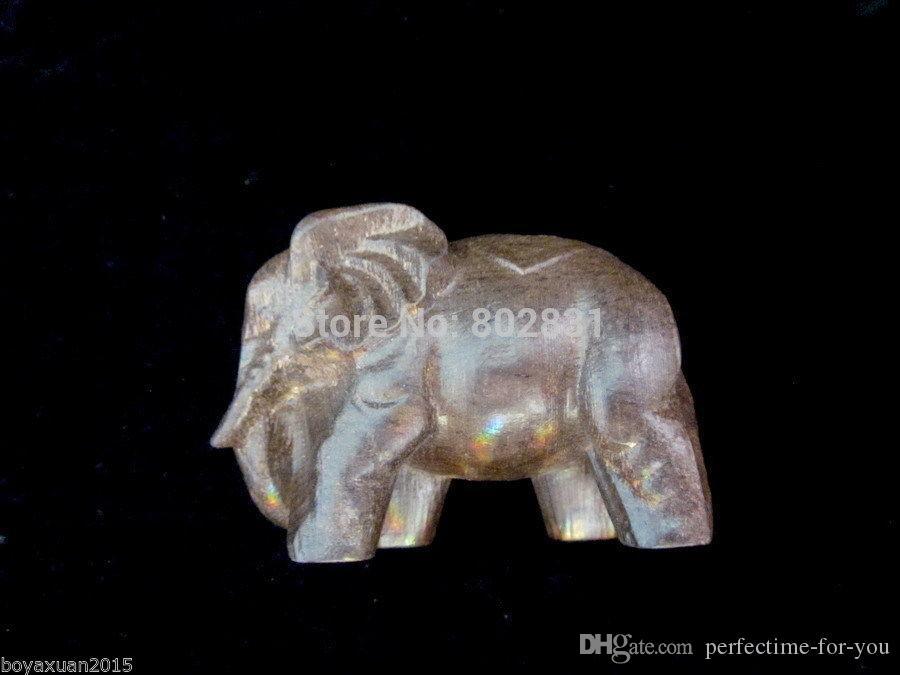 Fine China duftenden Holz geschnitzt ausgezeichnete HandWork Statuen-Eaby Elephant