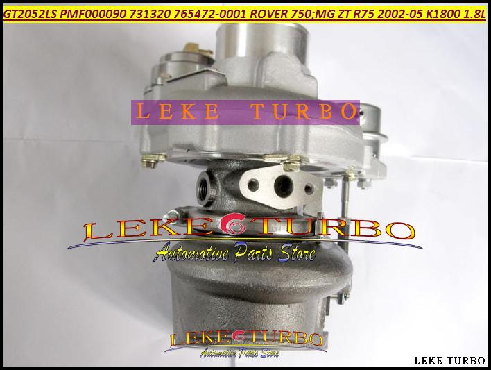 GT2052LS PMF000090 731320-5001S 765472-0001 Turbo Turbocharger For ROVER 75 2002 MG ZT R75 2002-05 K1800 18KAG 1.8L (4)
