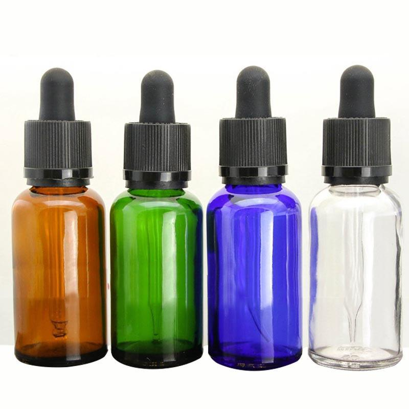 30ml Glass Bottle E Liquid Vape Juice Empty Bottles Pure