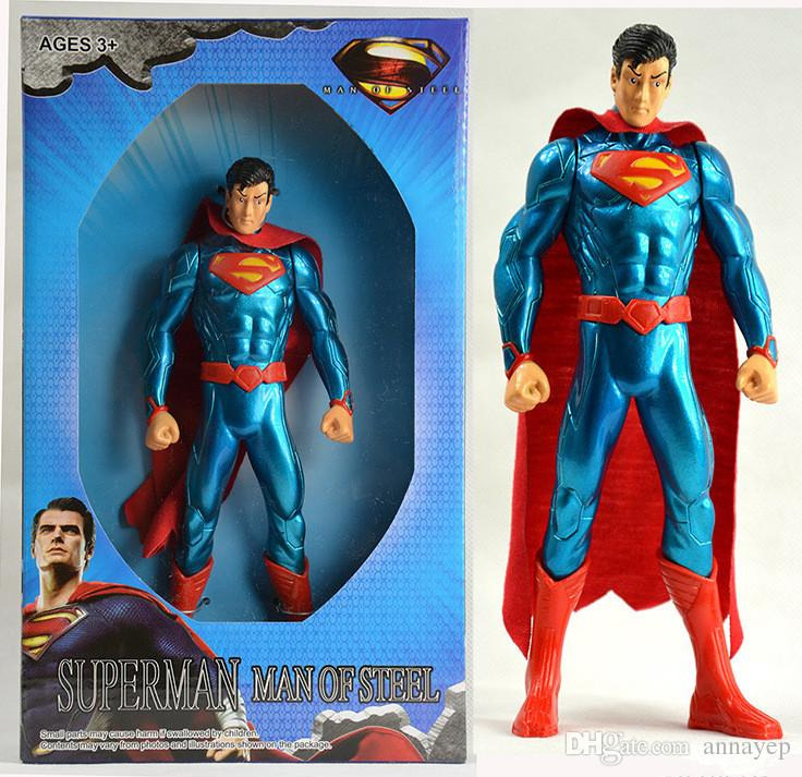 Best Superman Toys And Action Figures For Kids : Superhero super man pvc action figure collectible superman