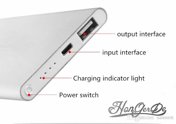 Energien-Bank Handy-Akku 8800mAh externe Batterie-Powerbank Tablet PC-Ladegerät Handy-Energien Banks usb cablce mit Kleinkasten