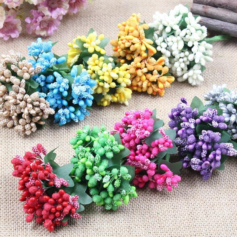 DIY Craft Materials Bouquet Strawberry Flowers Cambodia Joyful Box ...