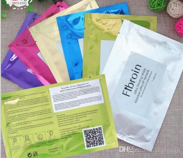 Wholesale-Thailand Fibroin Facial Skin Renewal Anti-Wrinkle Face Mask Triple Silk Mask Moisturizin Mask Cosmetic Whitening Facial Masks