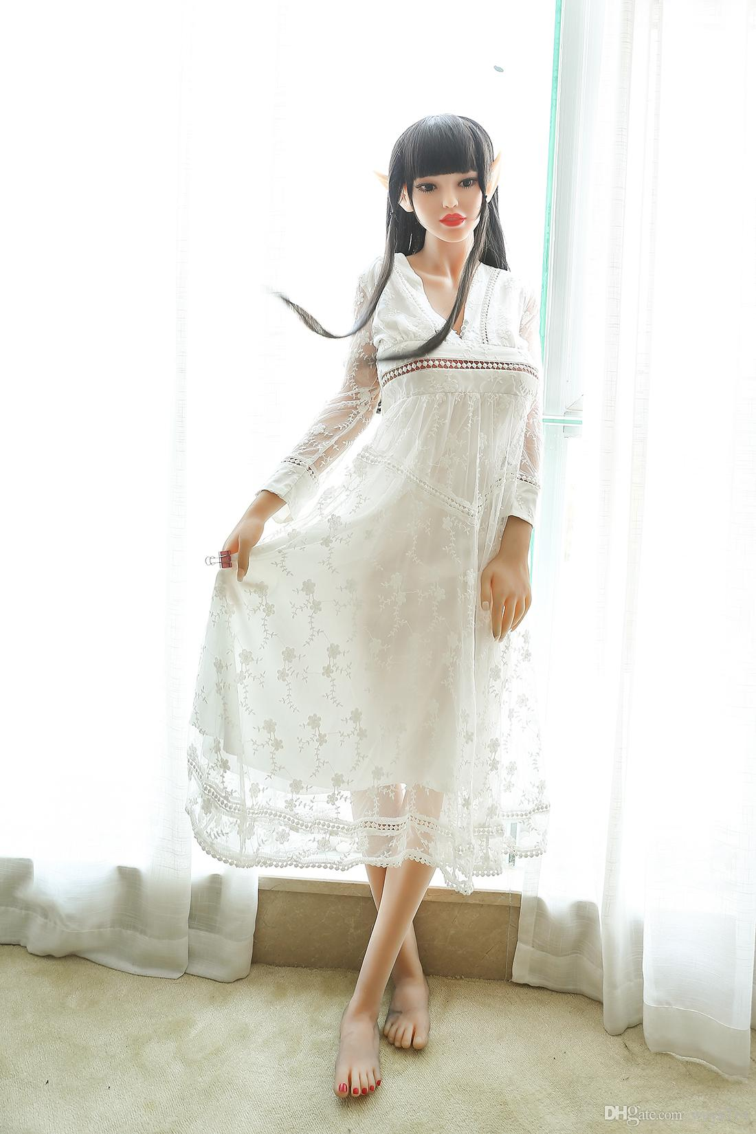 165cm Spirit Flesh Silicone Lifelike Big Boobs Love Dolls Realistic Sex Doll Sex Toys For Man Masturbation With Large Breast