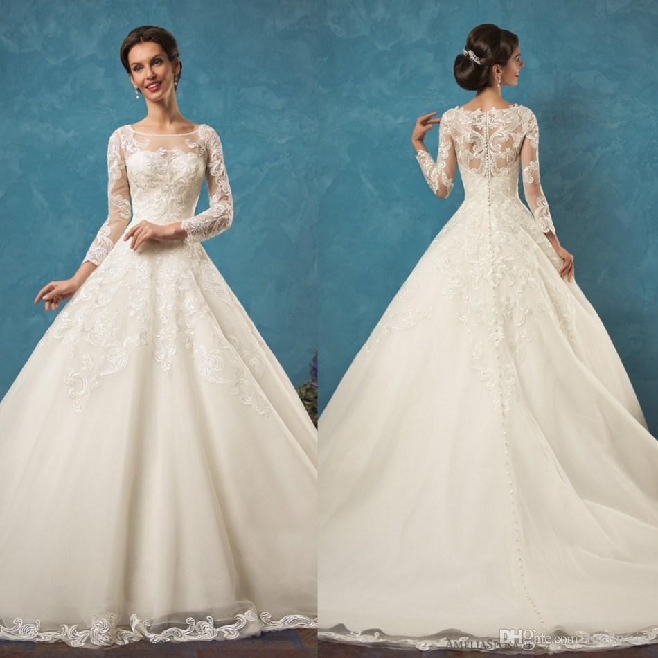 Amelia Sposa 2017 Wedding Dresses – fashion dresses