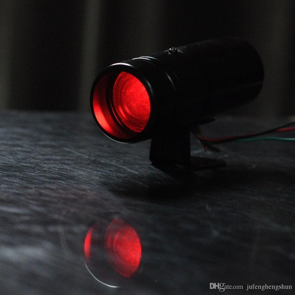 Hot Tachometer 1000-11000 RPM Adjustable Shift Light Tacho Gauge 12V Red LED Light Black Universal Make and Model