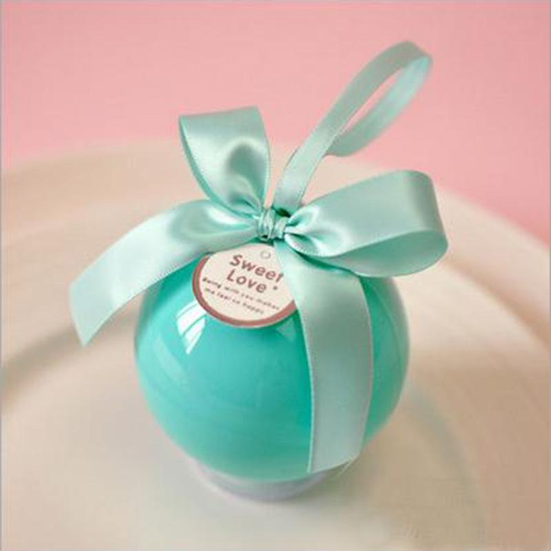 Multicolor Creative Round Ball Candy Box Wholesale