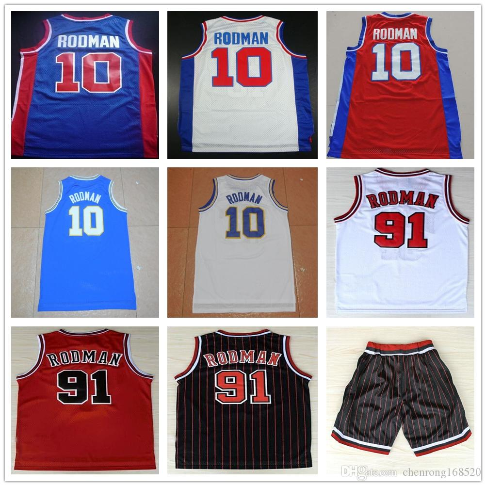 buy online b5551 406c3 coupon nba jerseys san antonio spurs 10 dennis rodman white ...