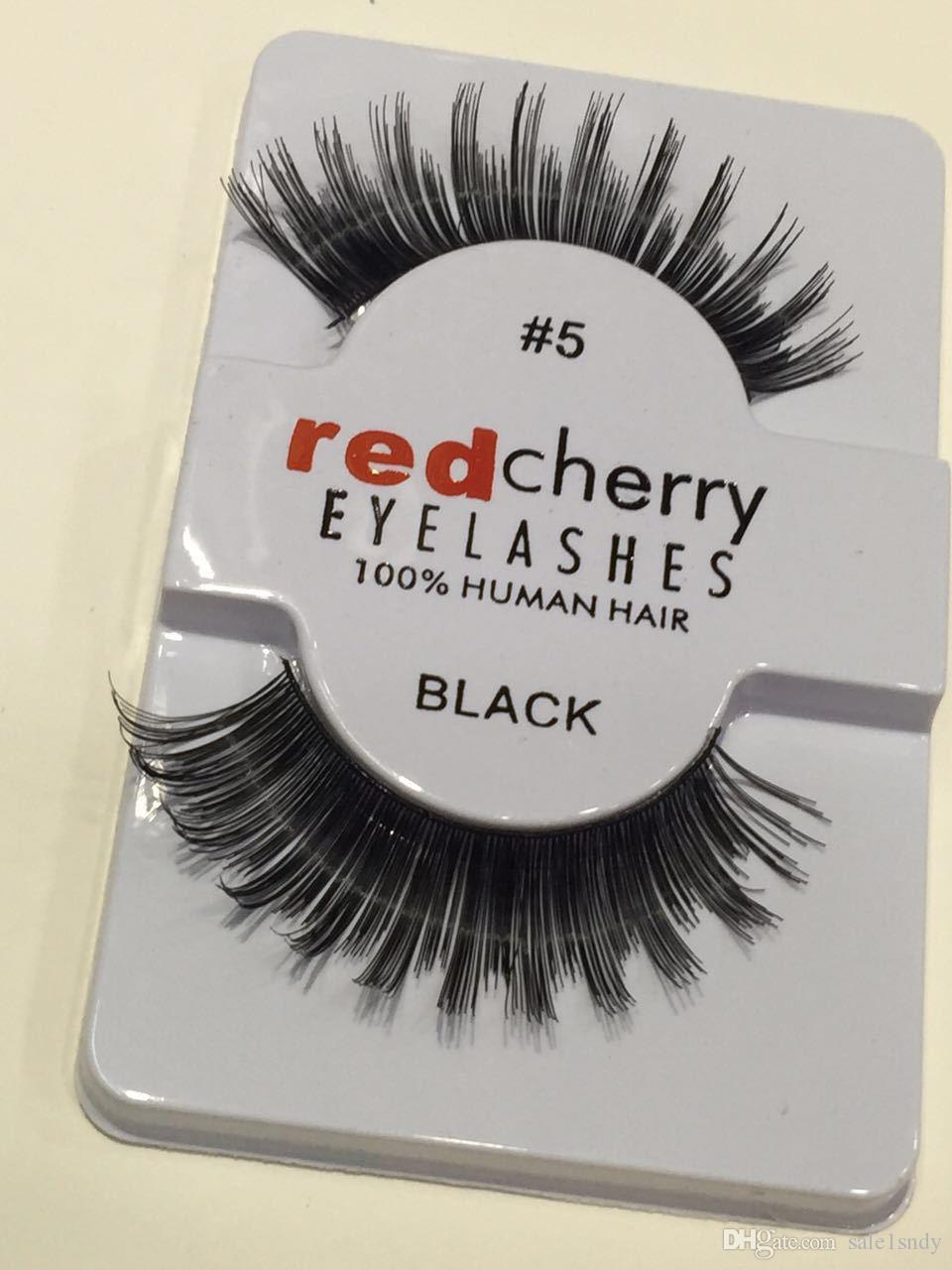 Wholesale High Quality Red Cherry Lashes Hair Eyelash Extension Mix