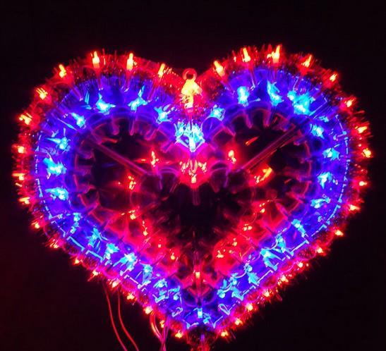 Großhandel Das Frühlingsfest Beleuchtet Dekoration Valentinstag Hochzeit  Layout Fenster Dekoration Liebe Hochzeit Zimmer Dekoration Led Lampe Ac110v  220v ...