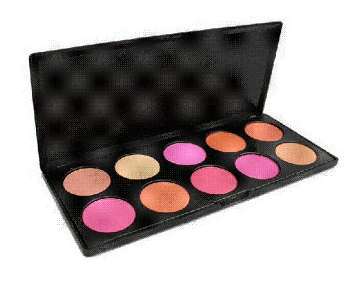 Wholesale 1PCS makeup blush, flushed blusher Blush 10 diff color dropship  Blush Cheap Blush