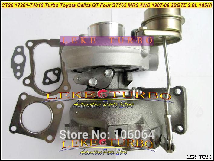 CT26 17201-74010 Turbo Turbocharger For TOYOTA Celica GT Four ST165 MR2 4WD 1987-89 3SGTE 2.0L 185HP 204HP (2)