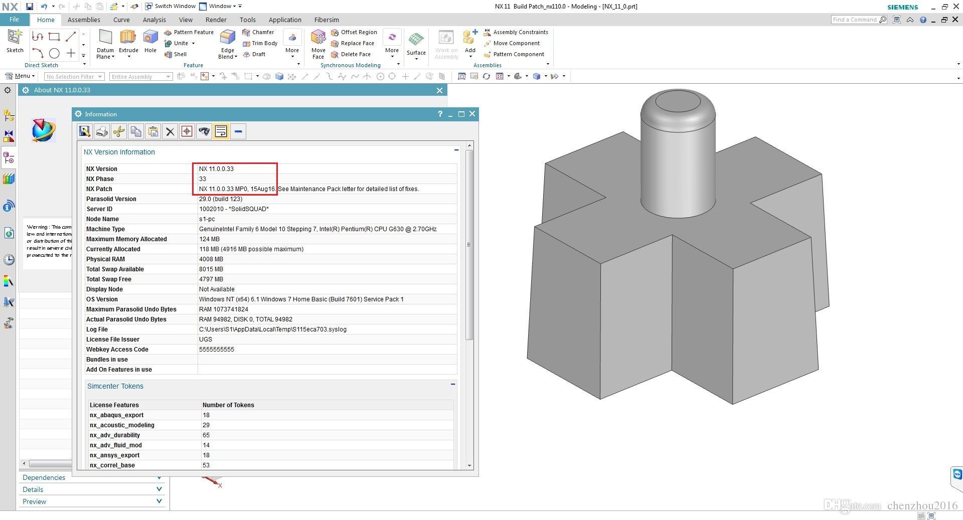 Siemens NX 11 0 Engineering DataBases Die Design, Mold Wizard, EDW, PDW  MULTILANG