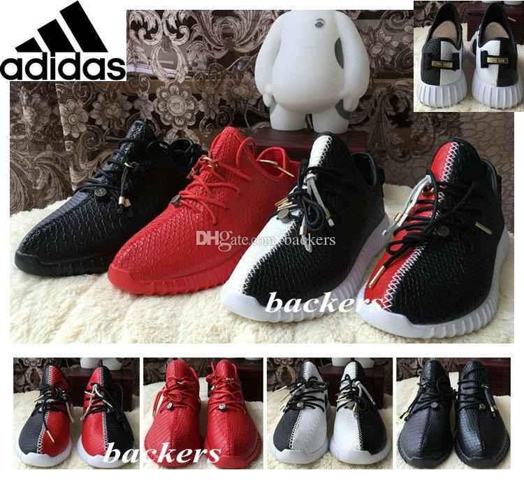 bf2ce3a81 ... free shipping originals adidas yeezy boost 350 moonrock pu running shoes  for men women leather shoe