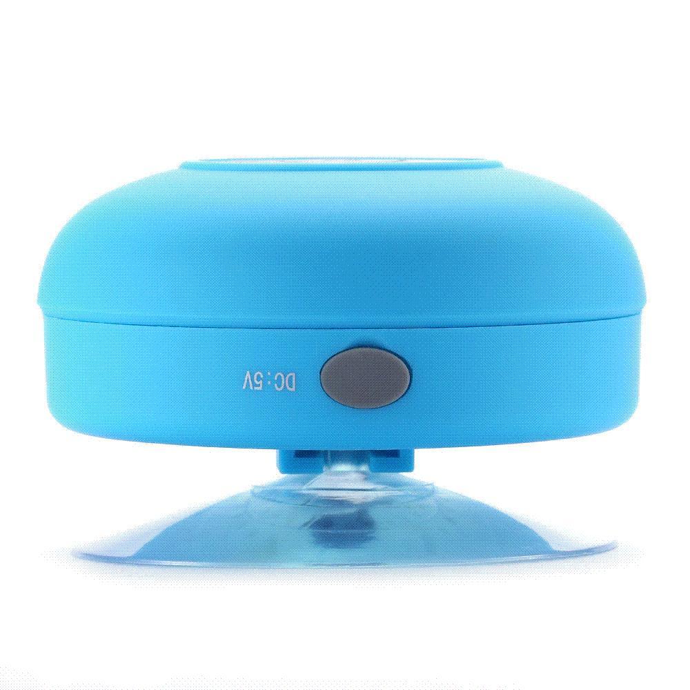 Perfect Best Hot Round Mini Bluetooth Speaker Waterproof With Sucker Portable  Wireless Speaker Sound System 3d Stereo Music Surround Bathroom Under $38.7  | Dhgate.