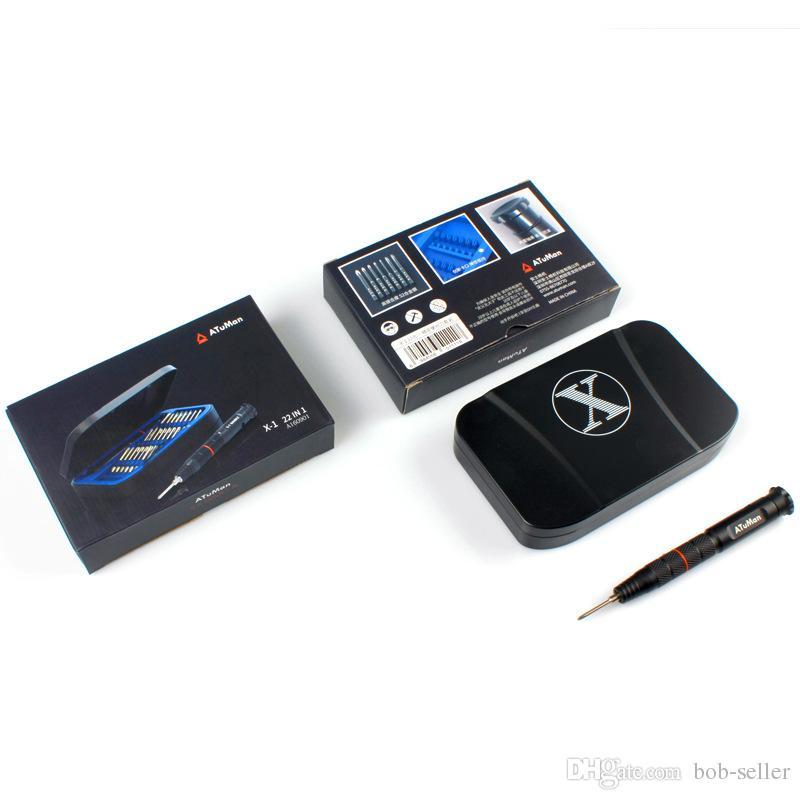 Set di cacciaviti Kit di cacciaviti magnetici, Strumenti di riparazione telefoni cellulari professionali 22 in 1 Tablet console di gioco smartphone iPhone X 8 Plus