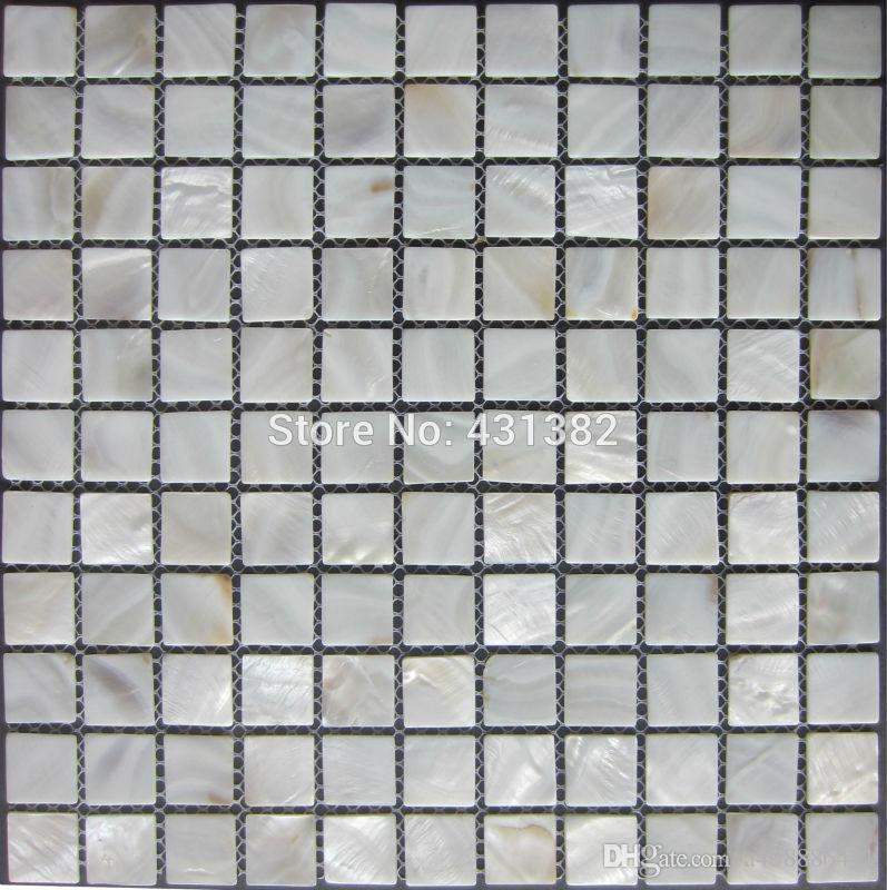 shell mosaic tiles 2525mm natural mother of pearl tiles kitchen backsplash bathroom walltiles from a408886441 dhgatecom