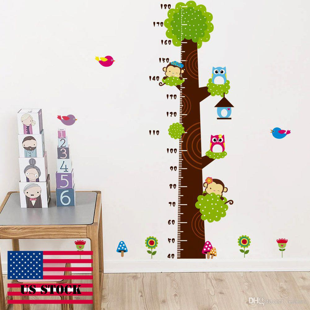 Cah010 growth chart wallstickers diy kids wall sticker tree vinyl cah010 growth chart wallstickers diy kids wall sticker tree vinyl wall stickers decal removable height measurement us stock removable wall stickers for kids geenschuldenfo Image collections