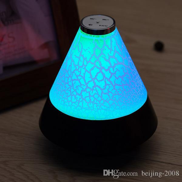 T12 bluetooth 3.0 sem fio estéreo mini speaker potable partido piquenique ao ar livre falante ao ar livre com colorido led night light