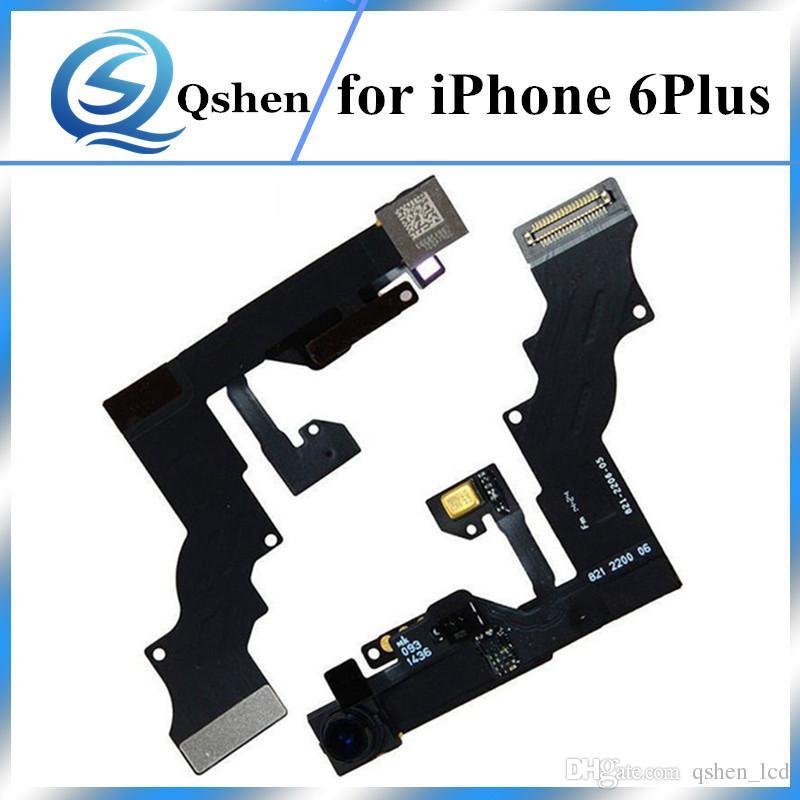 Original Quality 5.5 inch Front Camera for iPhone 6 plus 6P Sensor Proximity Light Ribbon Flex Cable facing cameras Replacement Parts