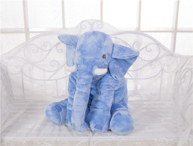 2016 New Cartoon Animal Elephant Baby Pillow Cushion Foldable Baby Bed Seat Cushion Portable Kids Big Elephant Plush Toy Toddler