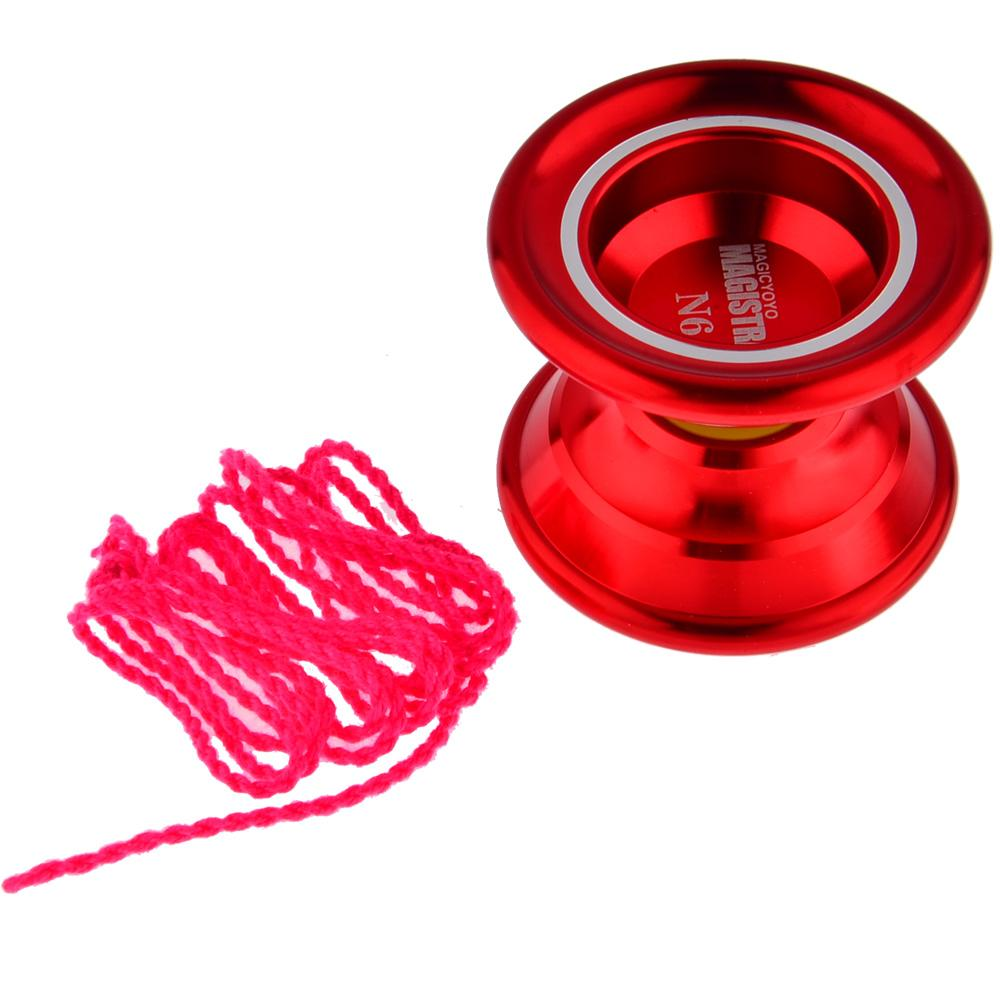 Magic YOYO N6 Magistrate Alloy Aluminum Professional Yo-Yo + String Kids Children Toy Gift