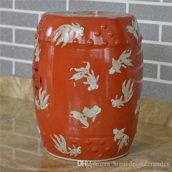2017 Antique Chinese Hand Painted Ceramic Drum Stool Garden Outdoor Stool Customize From Homedecorceramics $60.31 | Dhgate.Com & 2017 Antique Chinese Hand Painted Ceramic Drum Stool Garden ... islam-shia.org