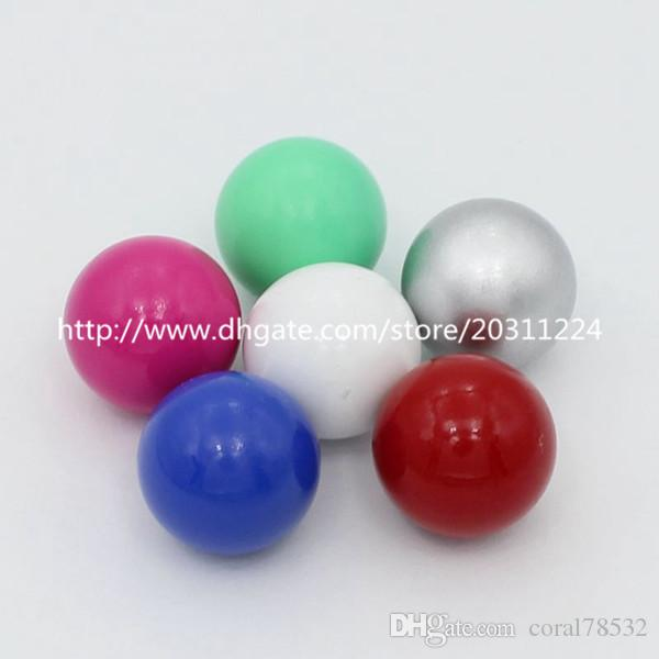 Mixed Color 16mm Round Chime Ball, Harmony Ball, Mexican Musical Bola Ball, Angel Caller Balls for Pregnancy Mom