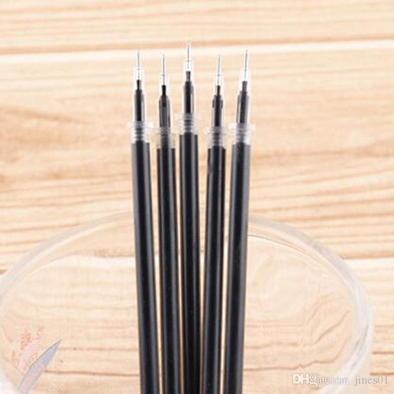 Бесплатная доставка 100 шт. / лот гель чернила ручка заправки ядро 0.38 мм иглы заправки гель чернила заменить офис школьные принадлежности Papelaria