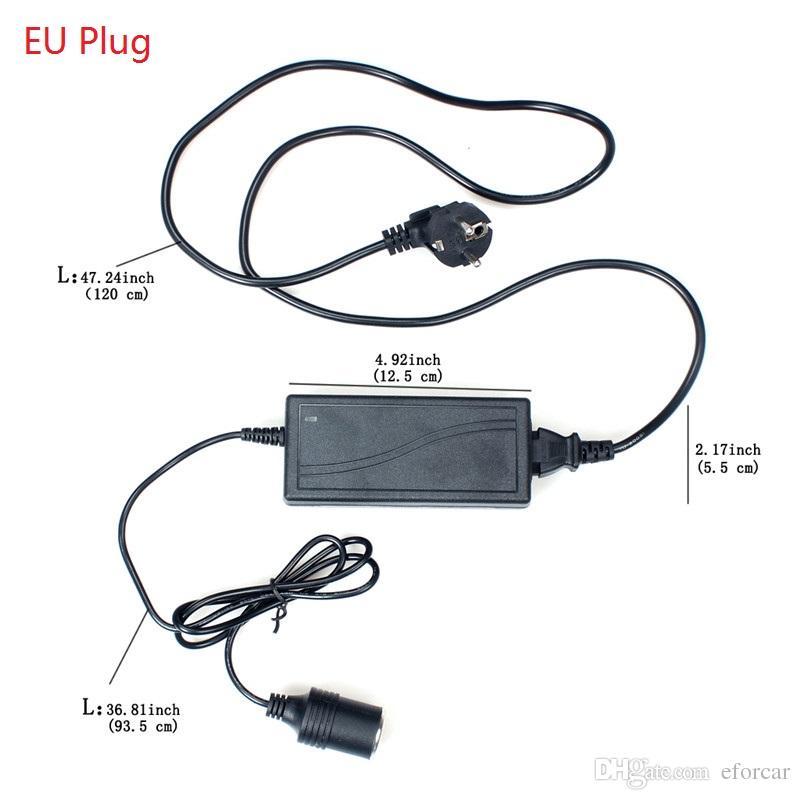 60W AC 220V to DC 12V 5A Converter Car Cigarette Lighter Socket AC/DC Power Supply Charging Adapter
