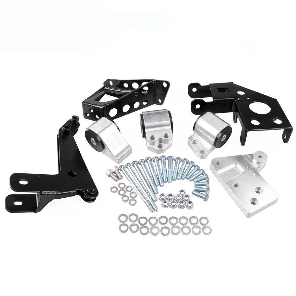 New Engine Motor Mount Kit For Honda Civic 92 95 EG K20 K24 K SERIES SWAP  KIT 70A Engine Mount Engine Motor Mount Honda Civic Online With $233.5/Set  On ...