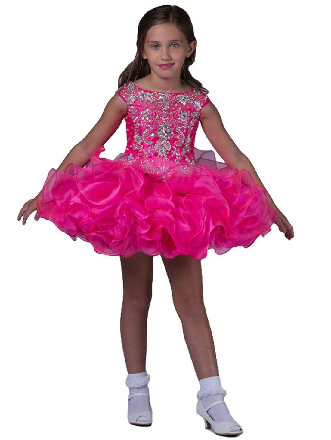 Compre Nuevo Vestido Lindo Del Desfile Del Cortocircuito De La Niña ...