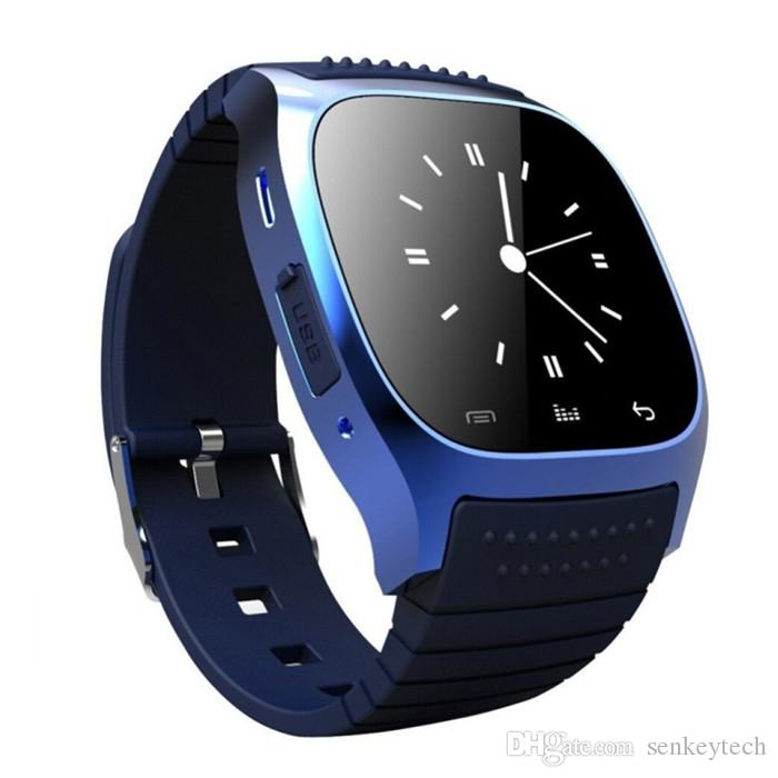 Preço barato m26 smartwatches para iphone samsung telefones android com real altímetro smart wrist m26 bluetooth smart watch