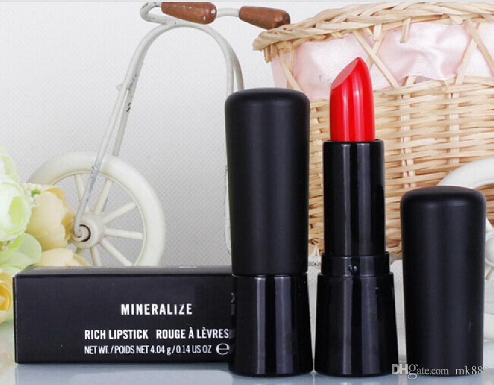 HOT good quality Lowest Best-Selling good sale New 12 DIFFERENT COLORS LIPSTICK 4.04g English name and number + gift