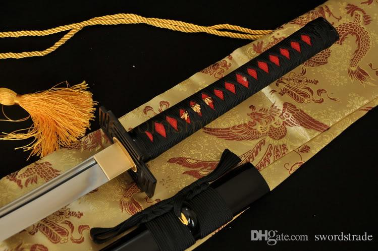 1060 High Carbon Steel Japanese Samurai Katana Battle Ready Sword #519