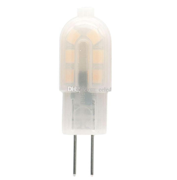 G4 Milky Mini 2835 SMD 2W 12Led Lamp Chandelier Lamp Energy Saving No Dimmable Corn Bulb 360 Beam Angle AC DC 12V For Indoor Decoration