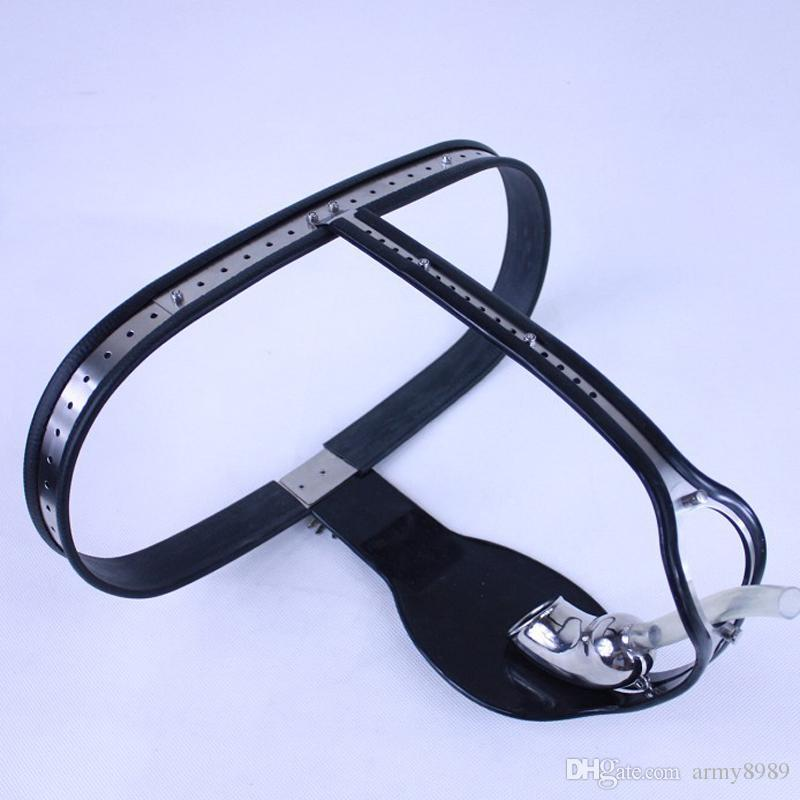 Stainless Steel Male Chastity belt+Leg ring,cock cage device,Fetish,sex products for men,sex toys for man gay