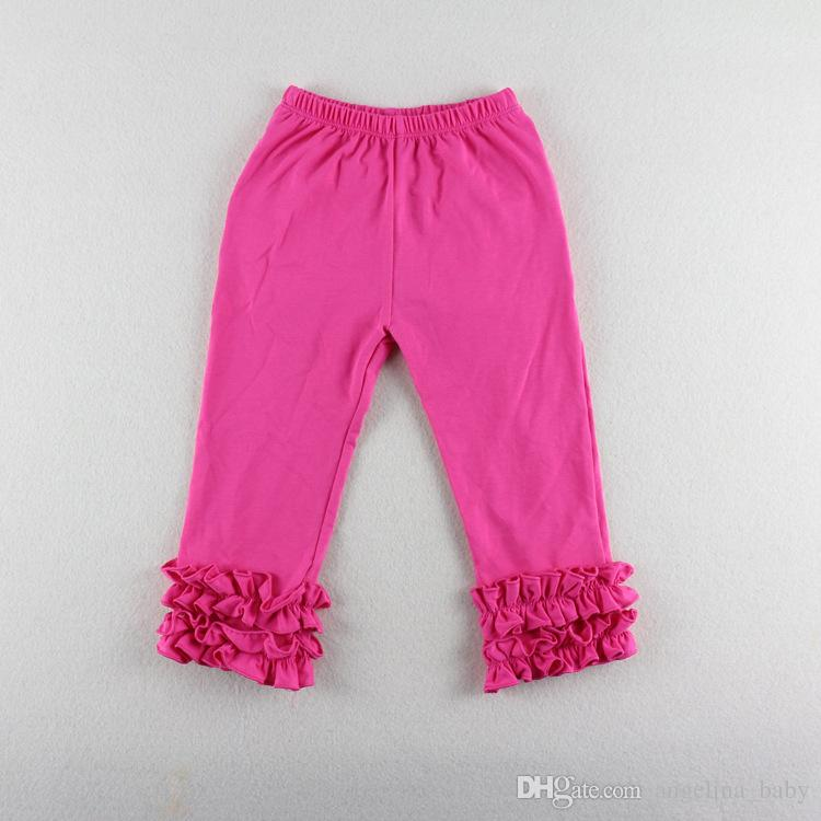 2017 New Autumn Baby Girls Ruffle Pants Leggings Baby Warmer leggings Tights Kids Trouseres Cotton Pants
