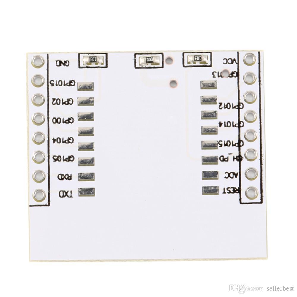 시리얼 포트 용 새 1 x 어댑터 플레이트 ESP8266 무선 WIFI 모듈 ESP-07 12 12E 도매