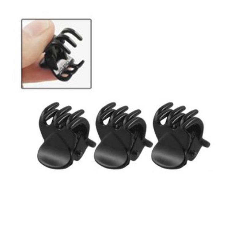 /sets Fashion Women crab Hair claw clip Girls Black Plastic Mini Hairpin Claws Hair Clip Clamp For Women Gifts