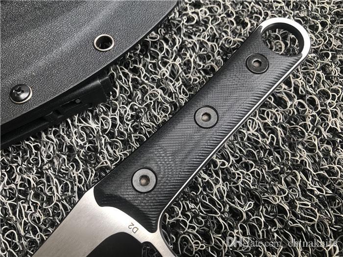 Top Qualität Reparierte Klinge Machete D2 Titan Klinge CNC Schwarz G10 Griff Karambit Klaue Messer Outdoor Camping Taktische Ausrüstung